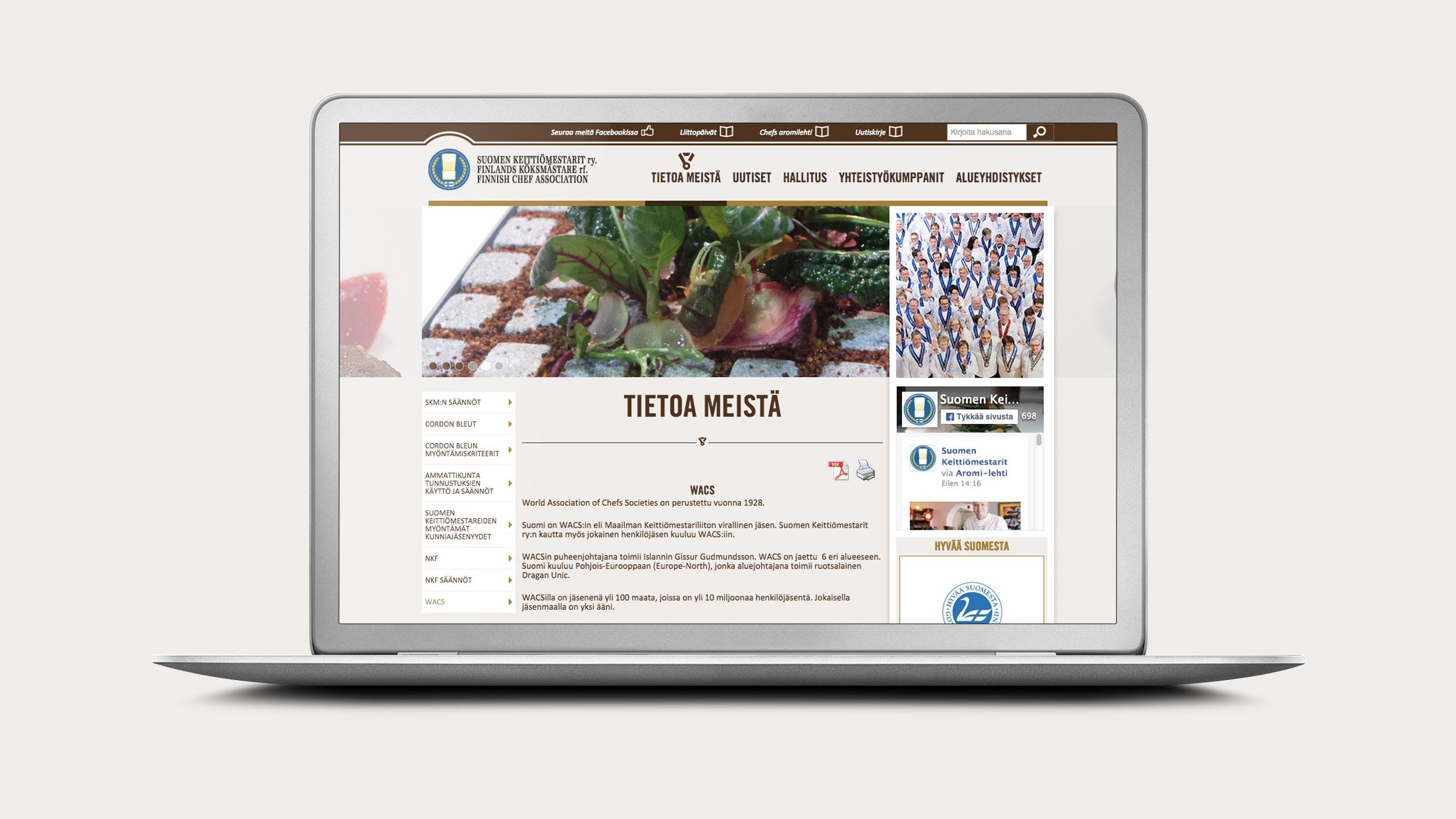 4.Mainostoimisto Neodesign www-sivut_ChefsWebMockup_16x9